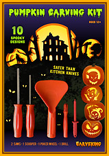 Pumpkin carving kit Carveking edition 2014