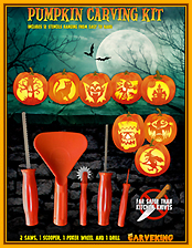 Pumpkin carving kit Carveking edition2016