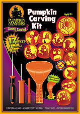 Pumpkin carving kit Pumpkin Masters edition 2010