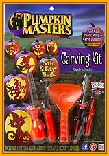 Pumpkin carving kit Pumpkin Masters edition 2015