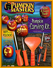 Pumpkin carving kit Pumpkin Masters edition 2016