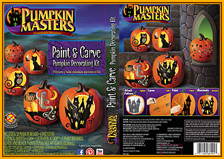 Paint & Carve Pumpkin Carving Kit